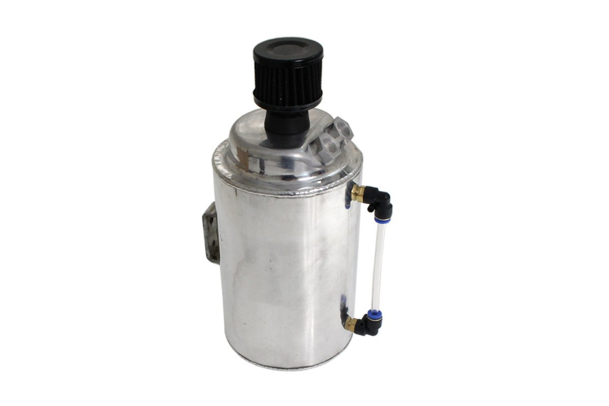 Oil catch tank 2L 9mm / 14mm TurboWorks z filtrem - GRUBYGARAGE - Sklep Tuningowy